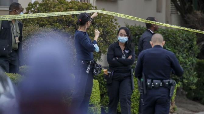Woman arrested in connection with triple homicide in Leimert Park