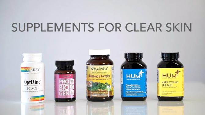 5 Best Supplements For Clear Skin