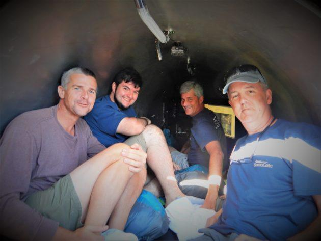 OceanGate's Titan submersible carries four aquanauts on a record-setting dive