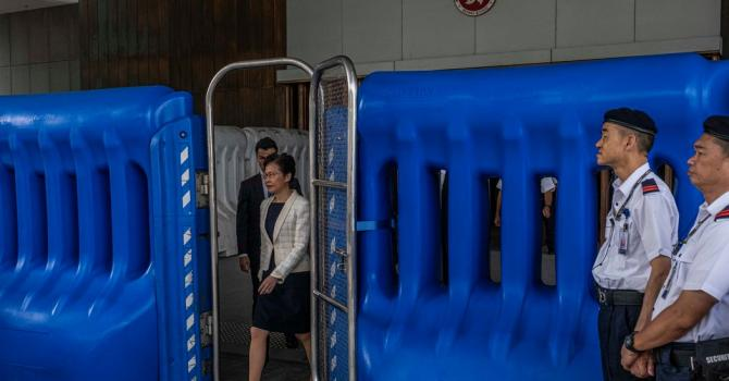 Hong Kong's Chief Executive Is Disheartened, but No Successor Is in Sight