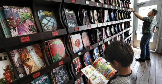 New comic book shipments are delayed. But you can still support local comic shops