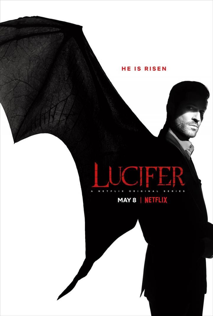 Reign Season 4 On Netflix: Netflix's Lucifer Season 4 Poster: The Devil's Reign Begins