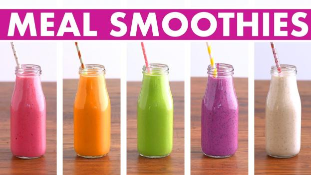5 Healthy Meal Replacement Smoothies Recipes Fruit, Veggies, Protein Mind Over Munch