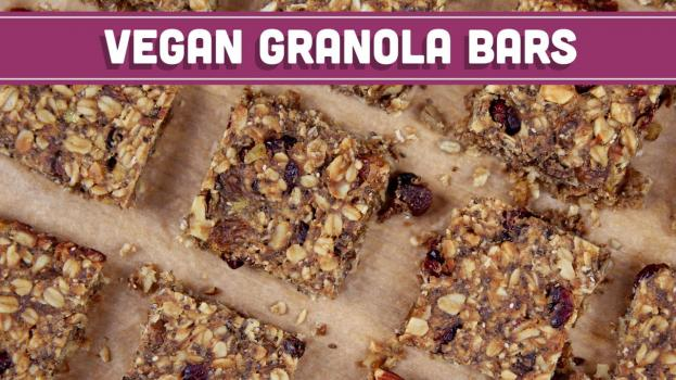 Homemade Granola Bars, Vegan & Gluten Free! Mind Over Munch
