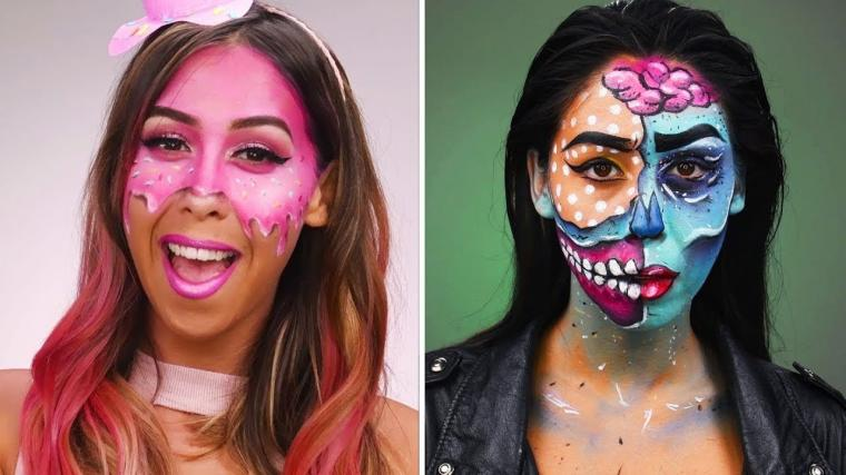 Halloween Makeup Tutorial | DIY Halloween Looks & Beauty Hacks by Blusher