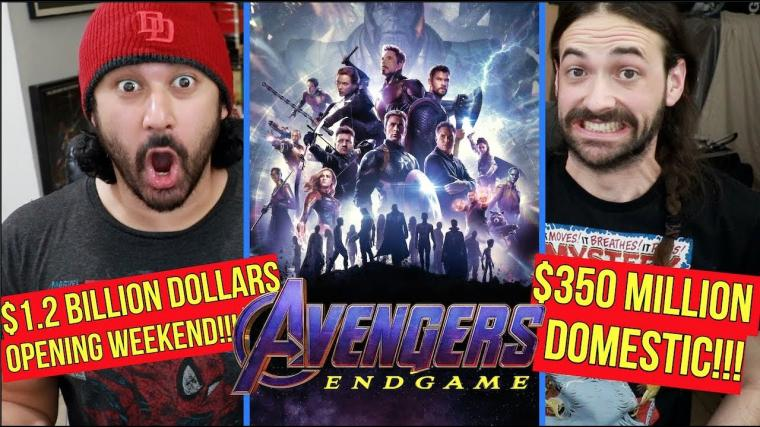 Avengers Endgame BIGGEST BOX OFFICE OPENING WEEKEND (1.2 BILLION Global, 350 Million Domestic)!!!