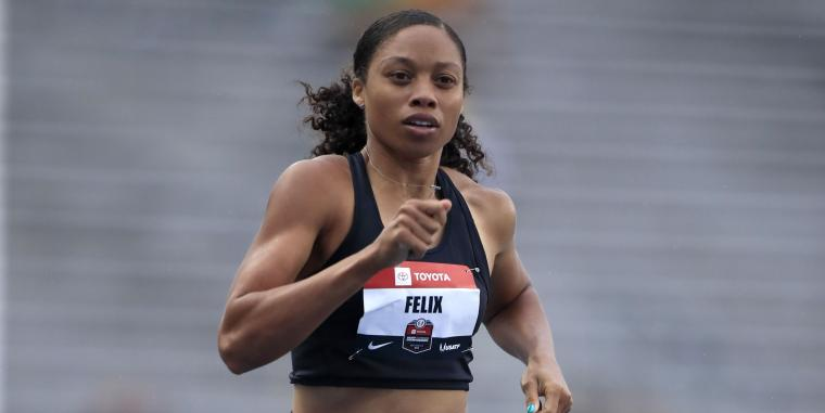Olympic Gold Medalist Allyson Felix Becomes Athleta's First Sponsored Athlete