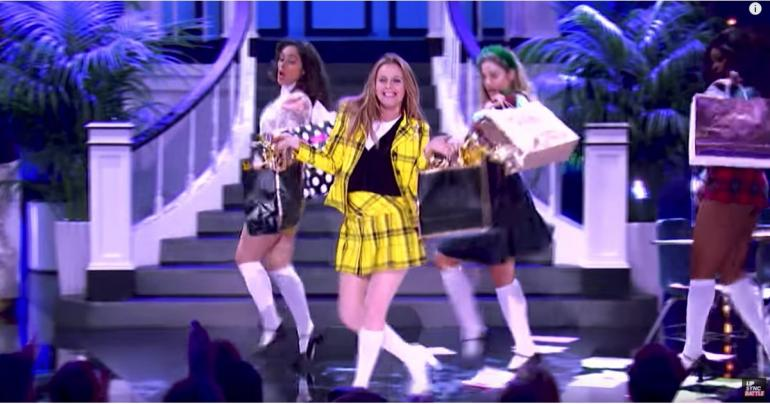 Alicia Silverstone Crushes Her Clueless-Themed Lip Sync Battle Performance - as Cher Horowitz!