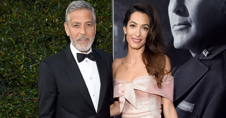 Amal Clooney's AFI Tribute to George Clooney Was So Touching, It Moved Him to Tears