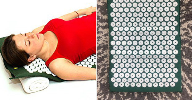 This Acupressure Mat Makes Back Pain, Insomnia, And Stress Seem Like NBD