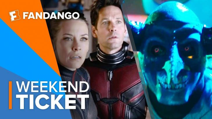 In Theaters Now AntMan and the Wasp, The First Purge | Weekend Ticket
