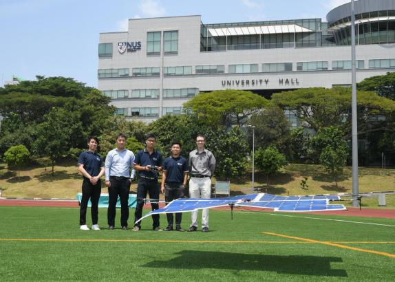 Fly high and far with Asia's first fully solar-powered quadcopter drone created by NUS students
