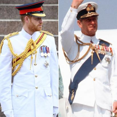 Whoa! Prince Philip Is the Spitting Image of Prince Harry in This Royal Throwback