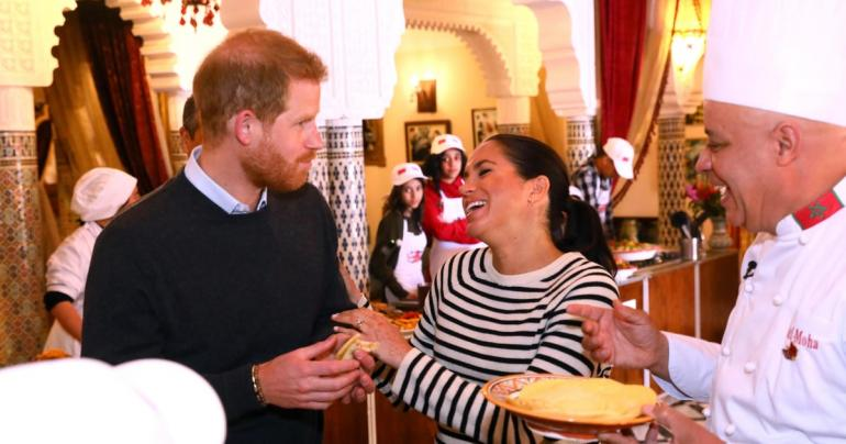 These Photos From Meghan and Harry's Morocco Tour Will Instantly Put a Smile on Your Face
