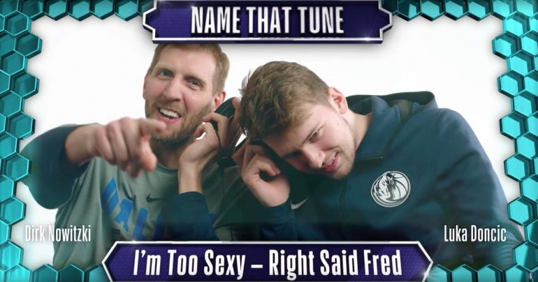 "2 NBA Players Attempt ""Name That Tune"" With '90s Music, and It's So Bad, It's Good"