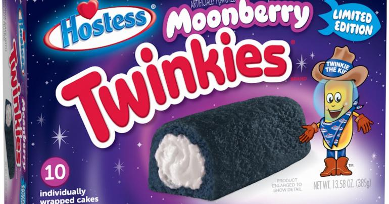 "Hold Up, Space Cowboys - Blue ""Moonberry"" Twinkies With a Mystery Filling Have Arrived!"