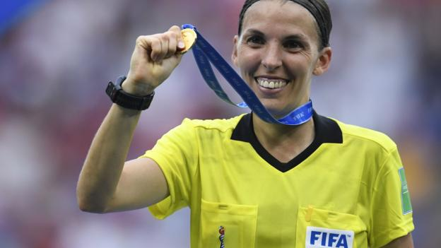 Super Cup: Stephanie Frappart first woman to referee major Uefa men's competitive match