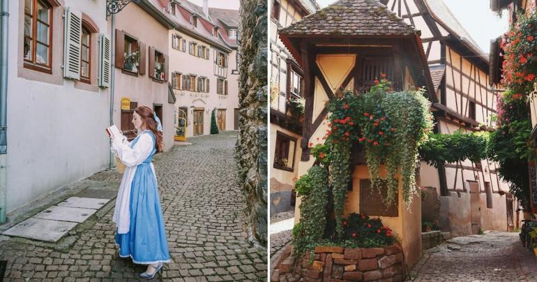 Every Corner of This Provincial French Town Looks Straight Out of Beauty and the Beast