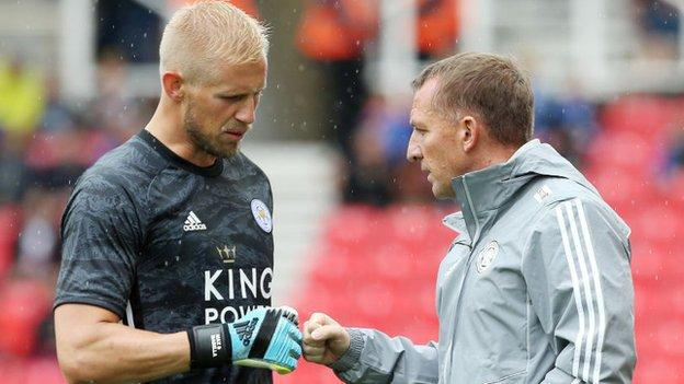 Leicester still looking for playing identity - Kasper Schmeichel