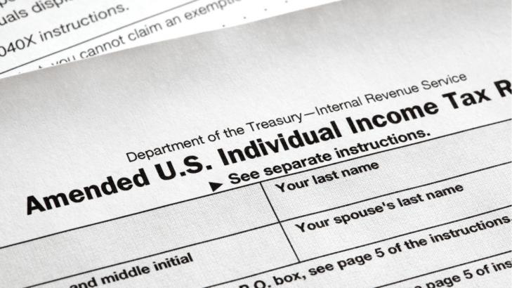 How to Amend a Tax Return Online