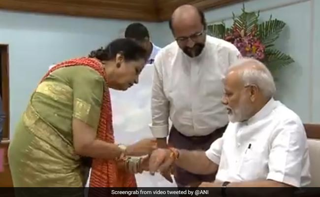 PM Modi's Pakistani Sister Sends Him Rakhi, Wishes For His Good Health