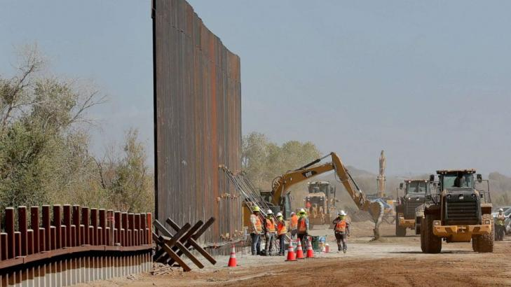 Supreme Court allows border wall construction to continue