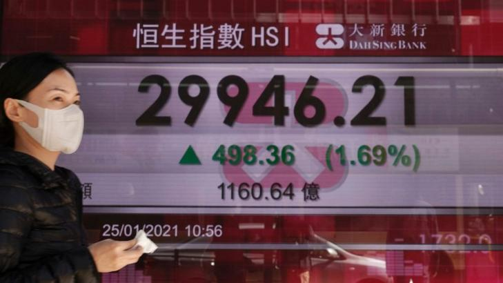 Asian shares rise on recovery hopes, markets eye earnings