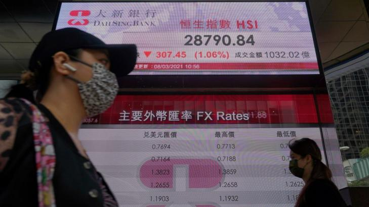 Asian shares mixed after US stimulus bill, profit-taking