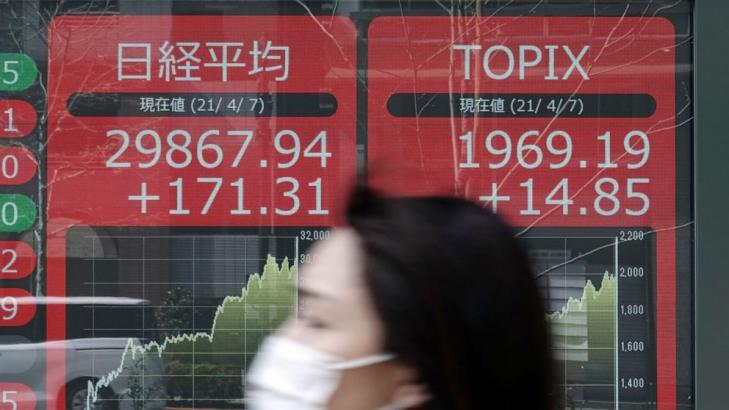 Asian stocks mixed after lackluster day on Wall Street