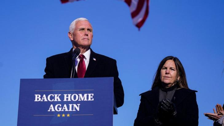 Pence launches new group as Trump aides line up new roles