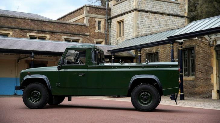 Prince Philip designed his own hearse, a modified Land Rover