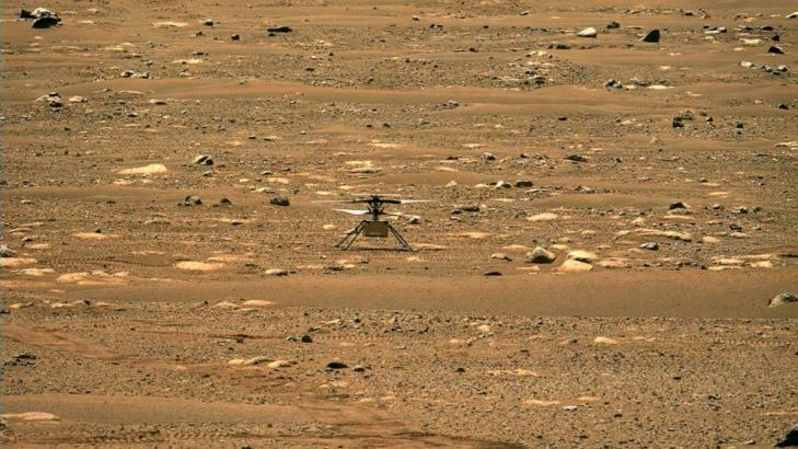 NASA's Mars helicopter to make 1st flight on another planet