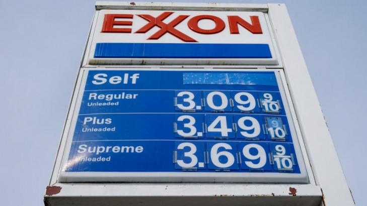 Exxon posts $2.7B quarterly profit after unprecedented year