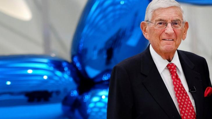 Eli Broad, billionaire entrepreneur who reshaped LA, dies